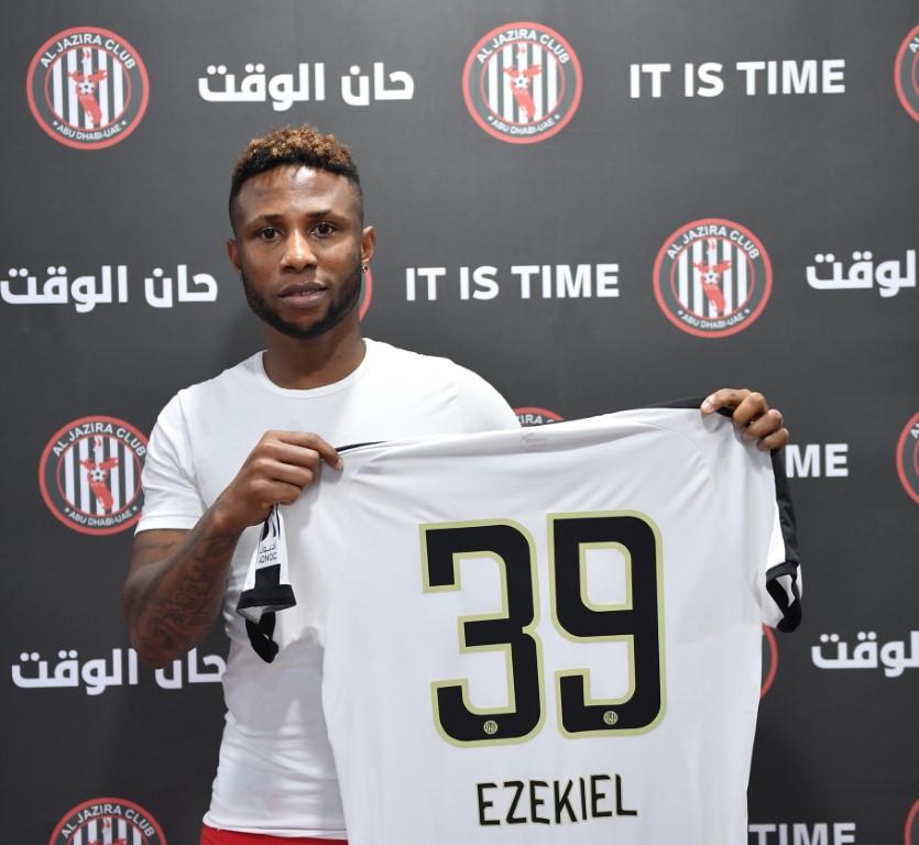 نادي الجزيرة يعزز خط هجومه بالتعاقد مع المهاجم النيجيري إيزيكيل