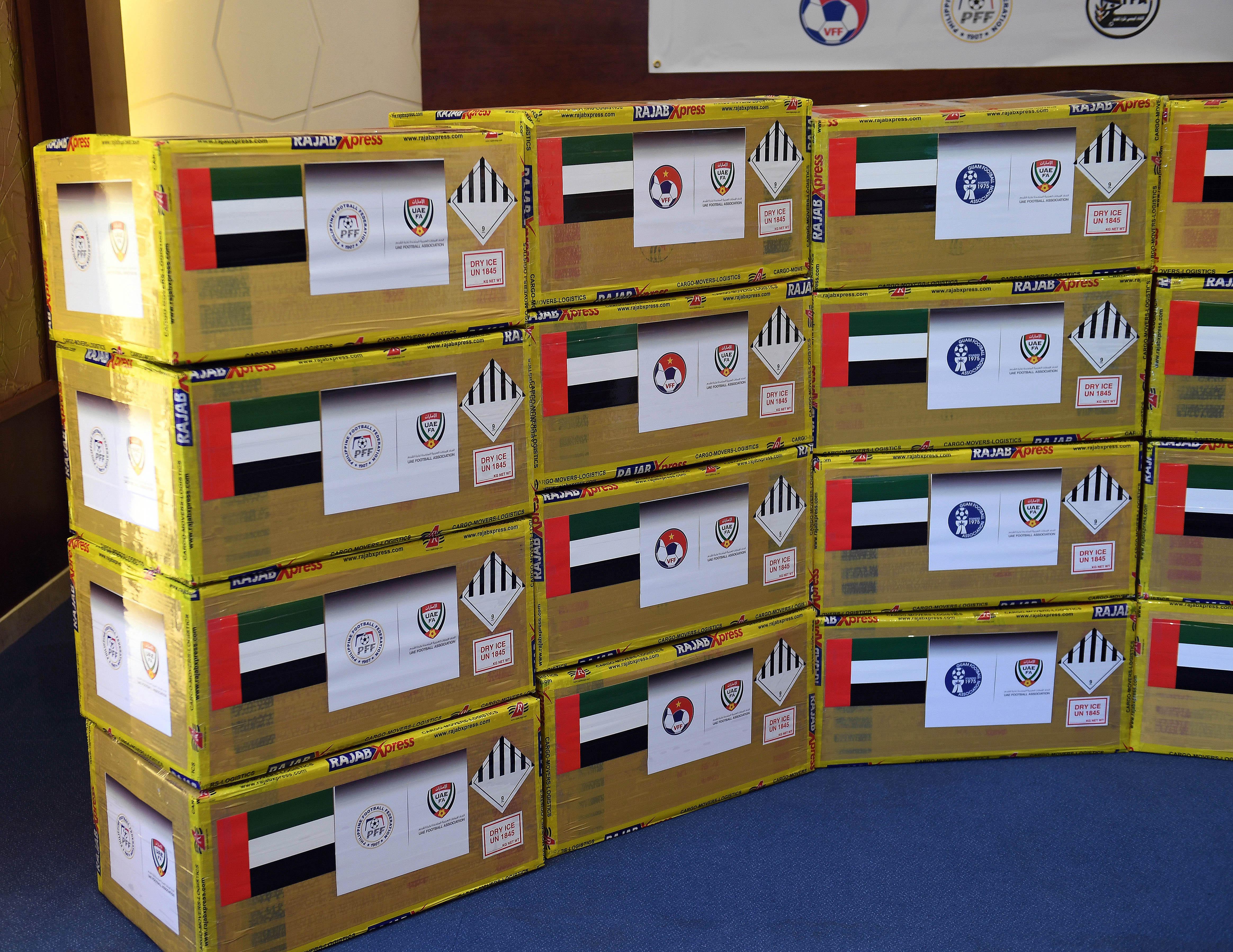 """""""اتحاد الكرة"""" يطلق المرحلة الثانية من مبادرة المساعدات الطبية """"للاتحادات الآسيوية"""" دعما لمواجهة """"جائحة كورونا"""""""