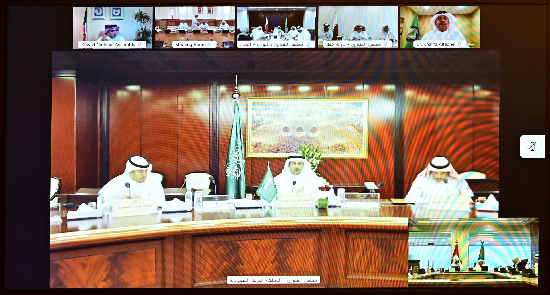 """""""الوطني الاتحادي"""" يشارك  في اجتماع لجنة التنسيق البرلماني والعلاقات الخارجية"""
