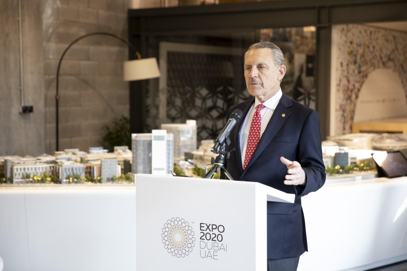 إكتمال أعمال تشييد جناح الولايات المتحدة الأمريكية في إكسبو 2020 دبي