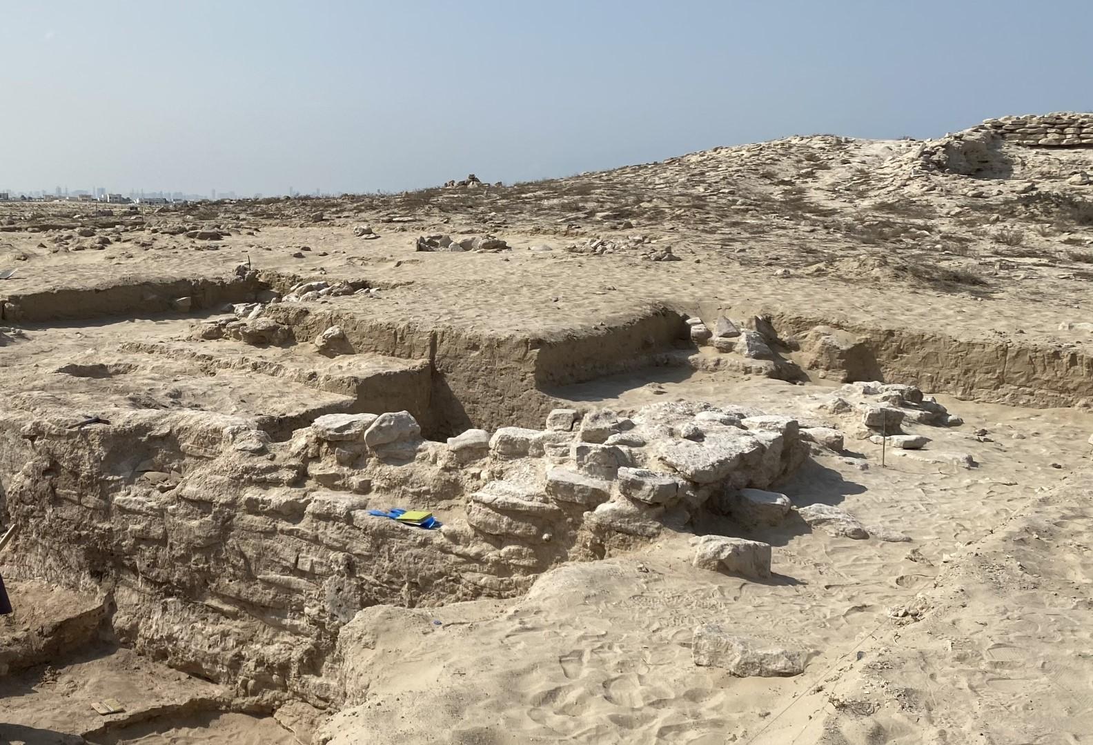 أم القيوين.. اكتشافات أثرية جديدة فى موقع