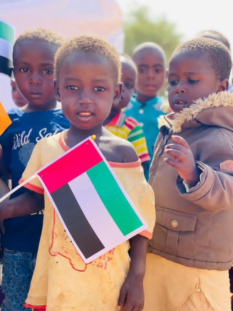 """بمتابعة حمدان بن زايد.. """"الهلال"""" يفتتح قرية """"المدينة"""" في النيجر"""