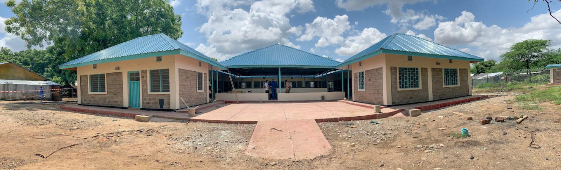 """""""القلب الكبير"""" تموّل تشغيل عيادة طبيّة في مخيم كاكوما للاجئين بكينيا"""