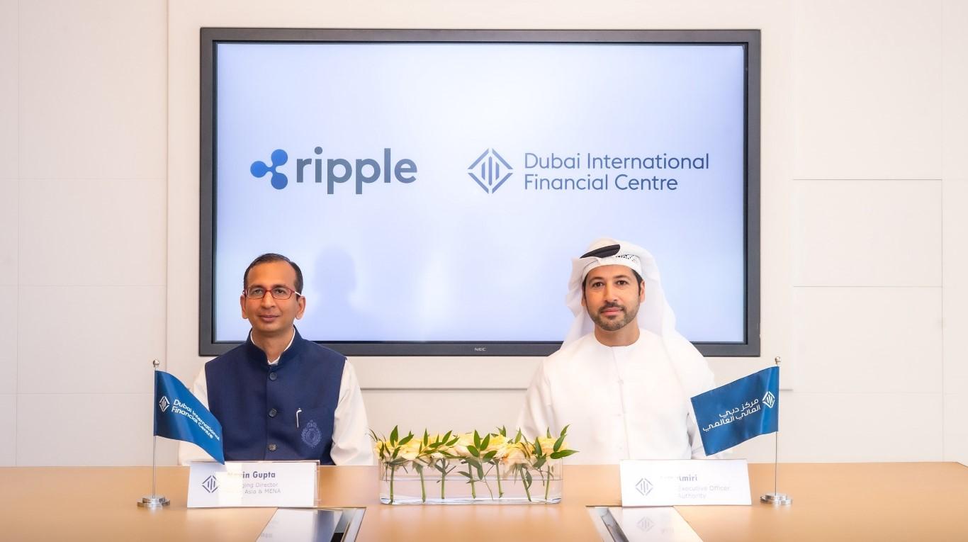 """شركة """"ريبل"""" تختار مركز دبي المالي العالمي مقراً إقليمياً لها"""