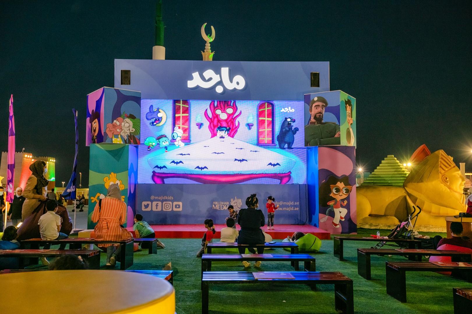 """""""مهرجان الشيخ زايد"""" يوفر لزواره تجارب تفاعلية ممتعة وفعاليات ترفيهية ضمن بيئة صحية أمنه"""