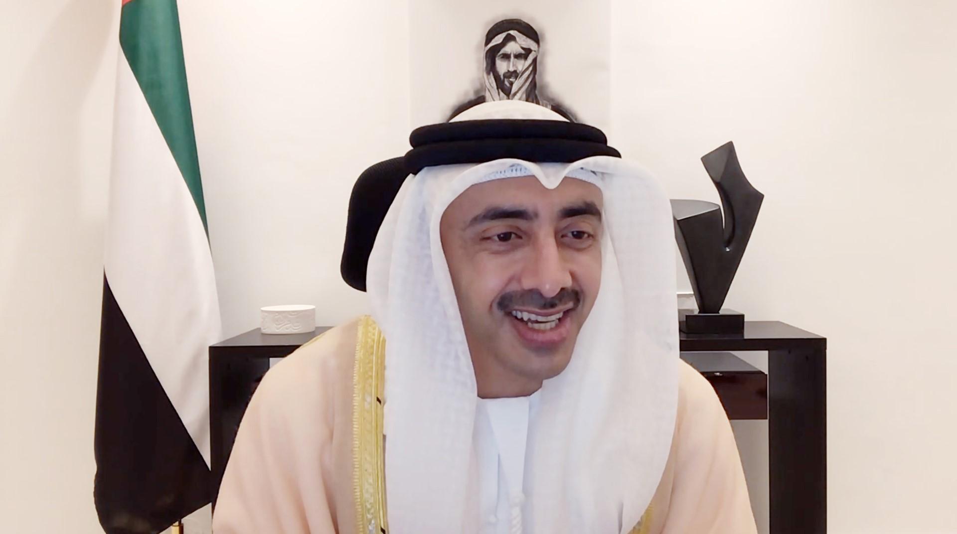 عبدالله بن زايد ووزير خارجية الكويت يترأسان أعمال اللجنة المشتركة بين البلدين