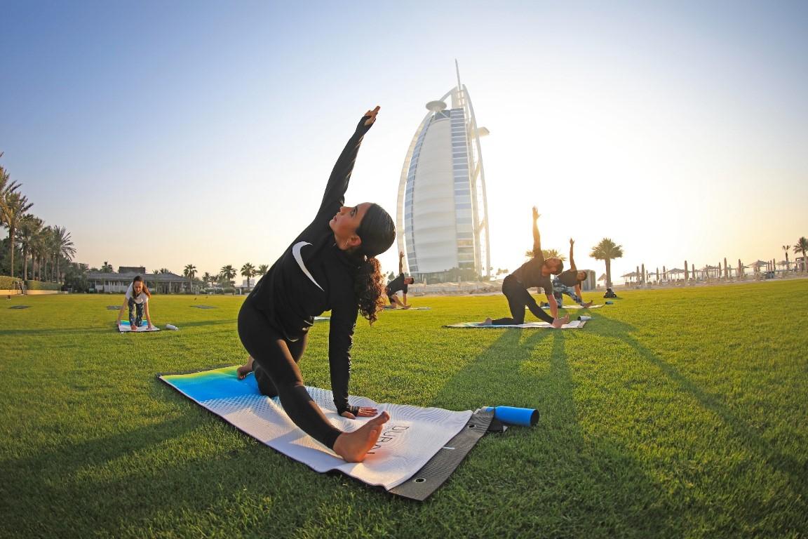 """تواصل فعاليات """" تحدي دبي للياقة 2020"""""""