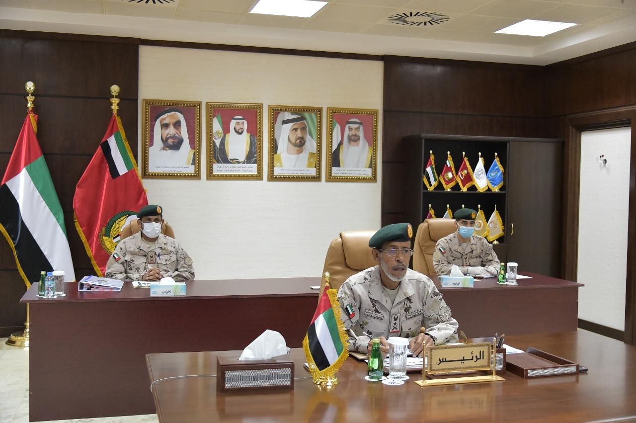 الرميثي يترأس اجتماع الدورة الـ 17 للجنة العسكرية العليا لرؤساء أركان القوات المسلحة بدول التعاون