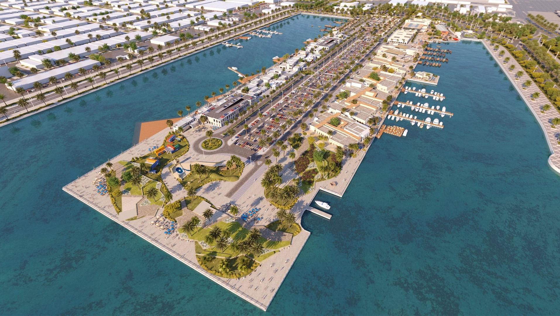 دائرة البلديات والنقل تطلق أعمال المرحلة الثانية من مشروع إعادة تطوير منطقة ميناء زايد
