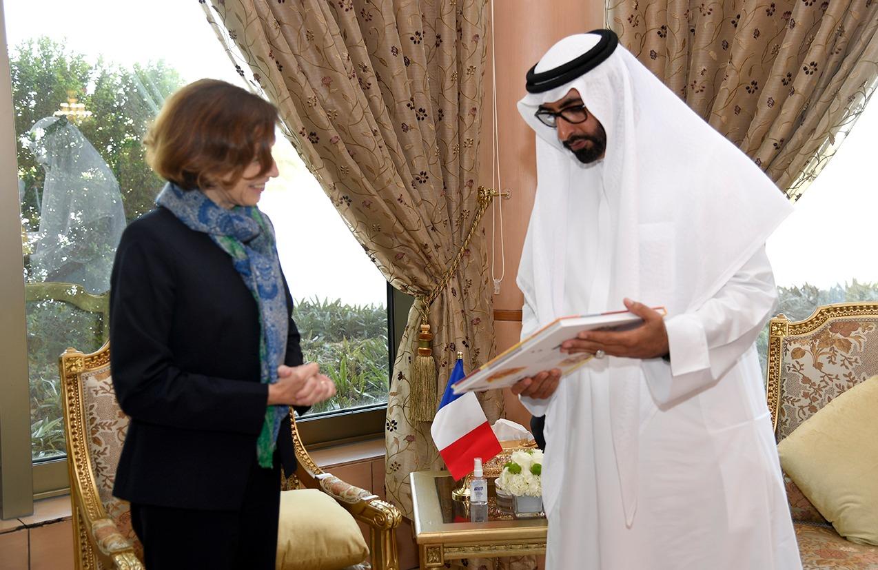 البواردي يبحث علاقات التعاون الدفاعي المشترك مع وزيرة القوات المسلحة الفرنسية
