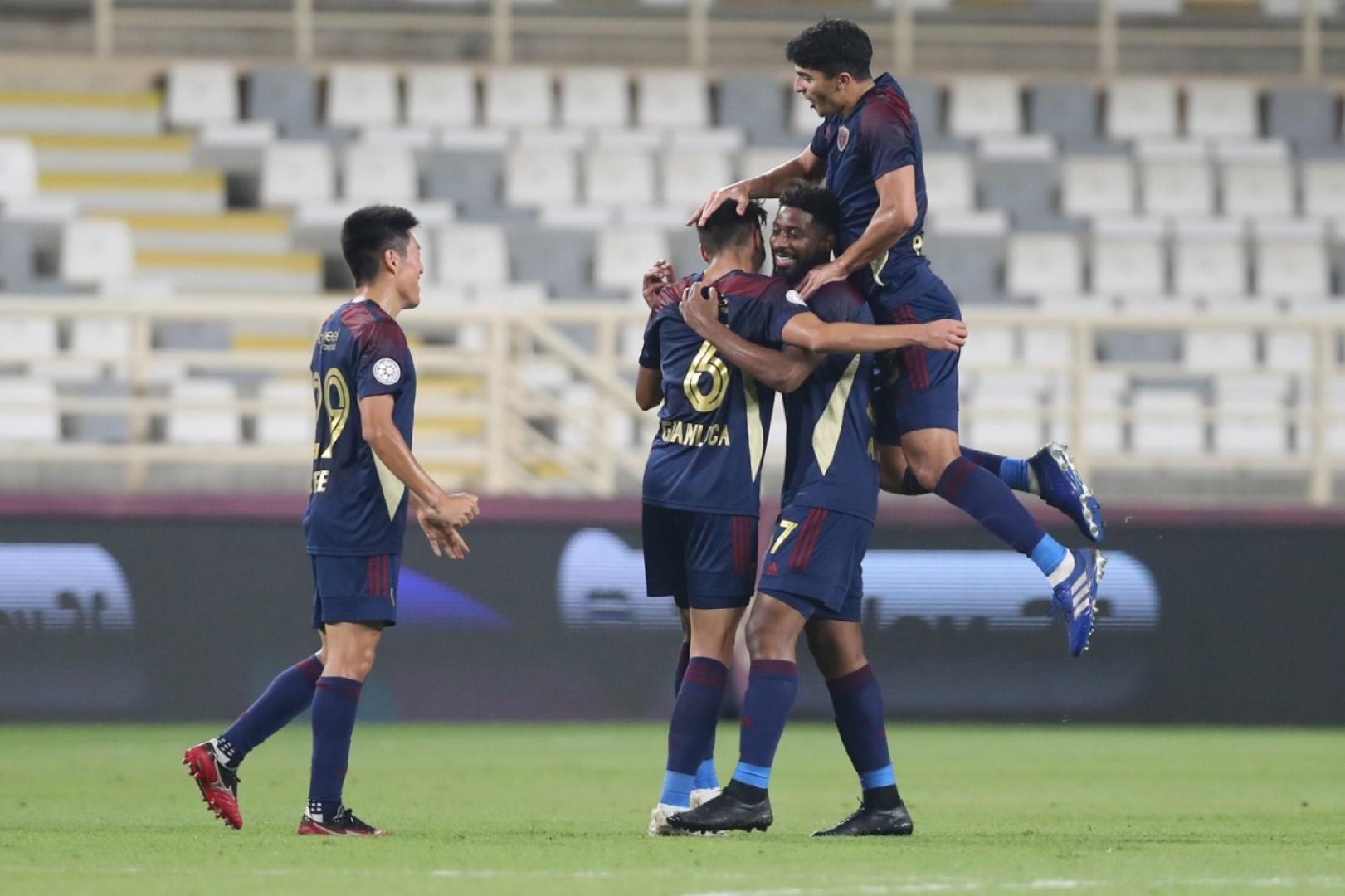 فوز الجزيرة والوحدة والظفرة في دوري الخليج العربي
