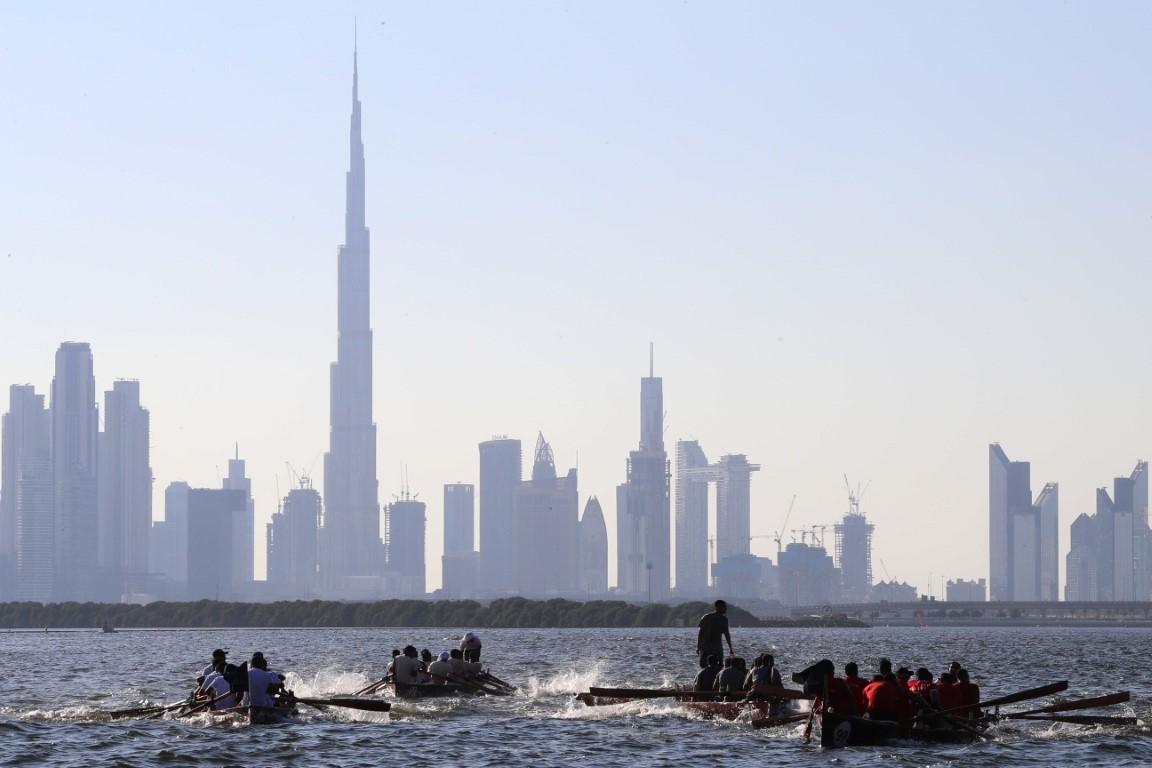 غدا .. قوارب التجديف تتنافس في أولى جولات دبي