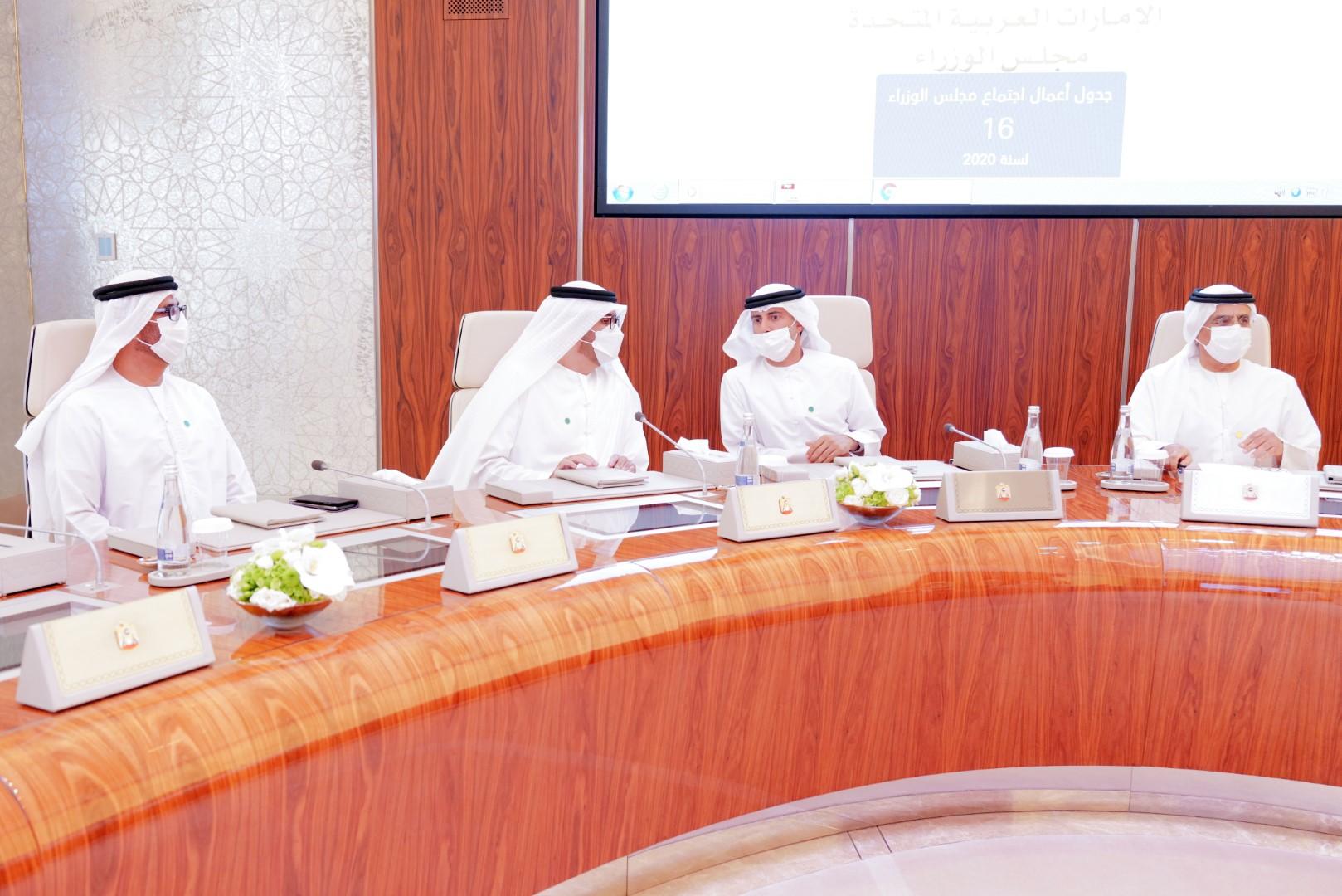 محمد بن راشد يترأس اجتماع مجلس الوزراء ويعتمد إنشاء الهيئة الوطنية لحقوق الإنسان