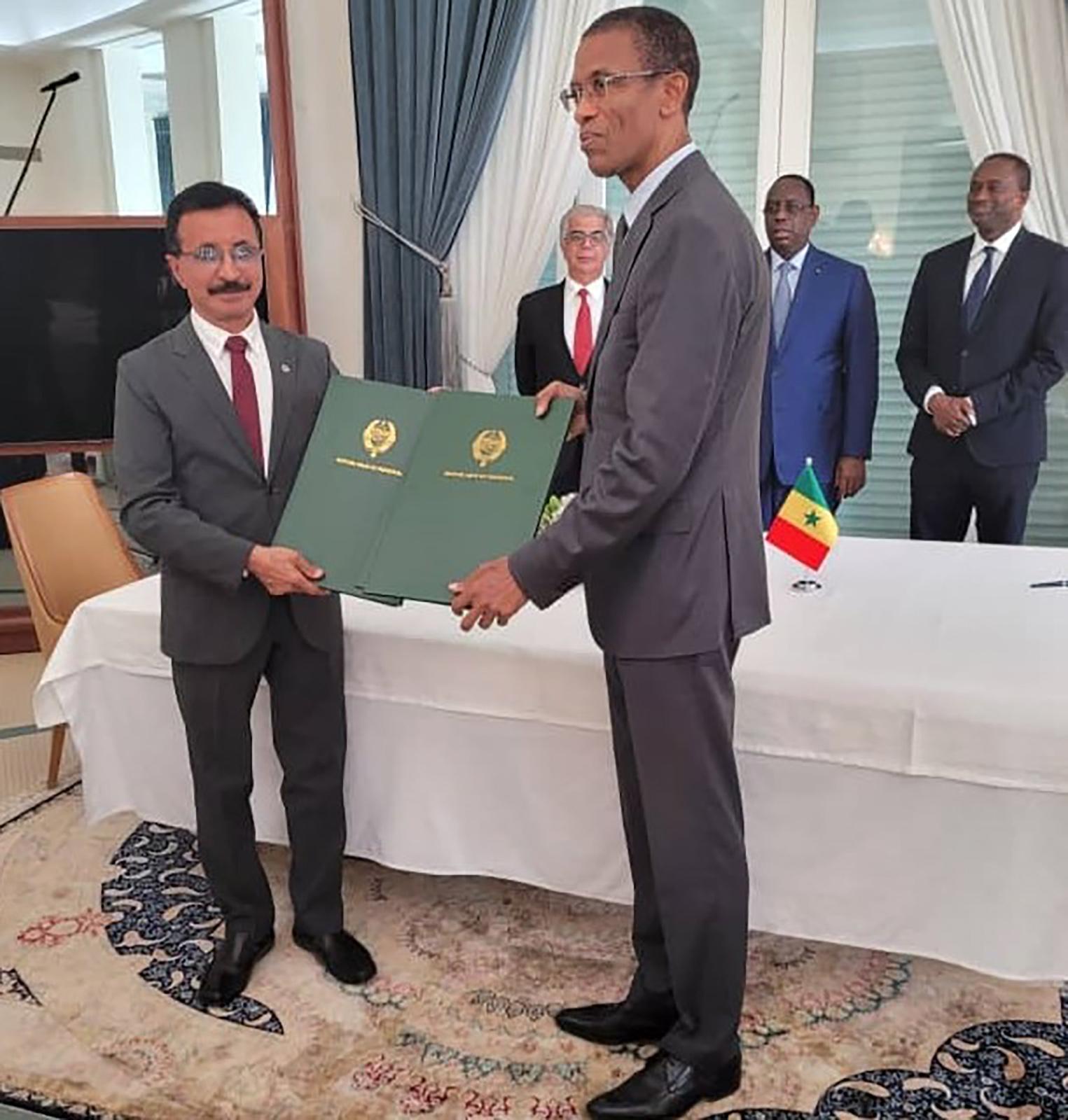 """""""موانئ دبي"""" : الاتفاقية مع السنغال لتطوير ميناء بحري بـ""""ندايان"""" هي جزء من امتياز ميناء داكار ومدته 50 عاما"""