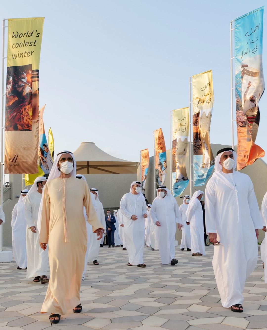 محمد بن راشد يعتمد استراتيجية السياحة الداخلية في الدولة ويطلق حملة إماراتية موحدة للسياحة الداخلية