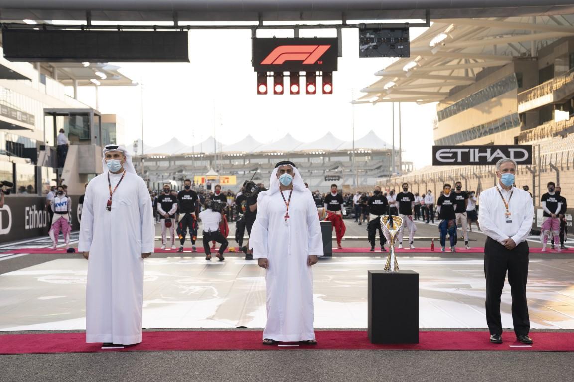 سيف بن زايد يشهد منافسات جائزة الاتحاد للطيران للفورمولا 1 - الجولة الختامية لبطولة العالم 2020