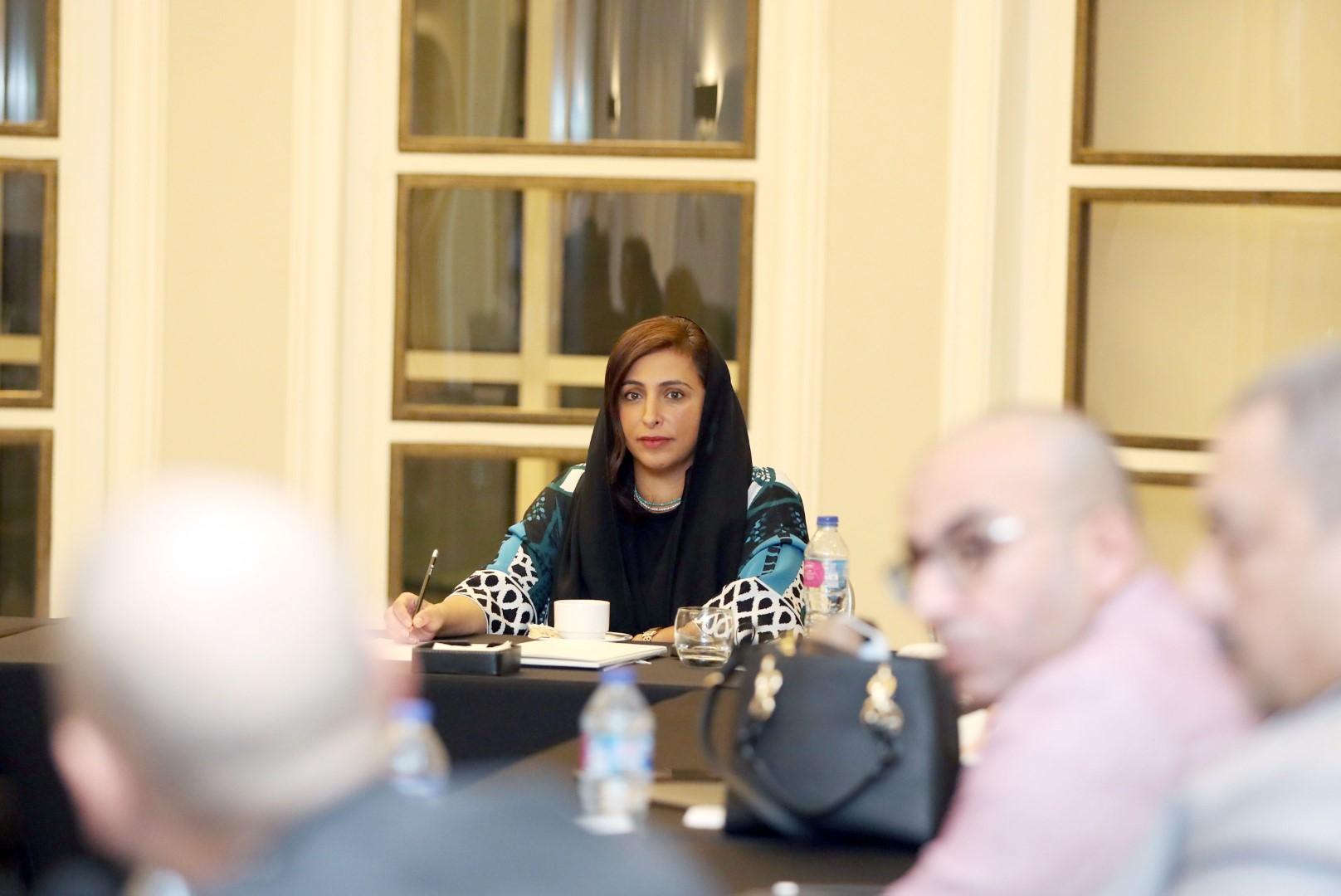بدور القاسمي تبحث مع اتحاد الناشرين العرب والمصريين تحديات قطاع النشر