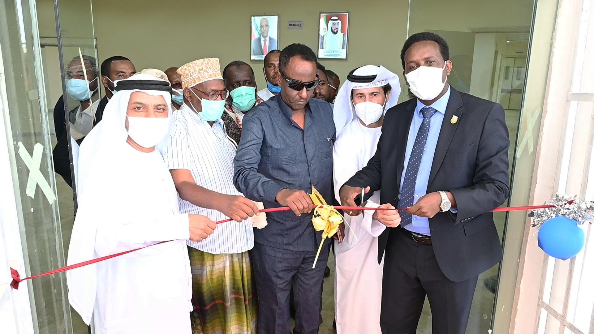 بتوجيهات رئيس الدولة ودعم محمد بن زايد .. الإمارات تفتتح مستشفيين في بربرة وبرعو بأرض الصومال
