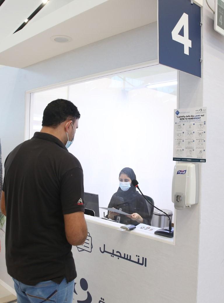 """""""صحة"""" تبدأ حملة التلقيح ضد فيروس كوفيد-19 في 40 موقعا"""