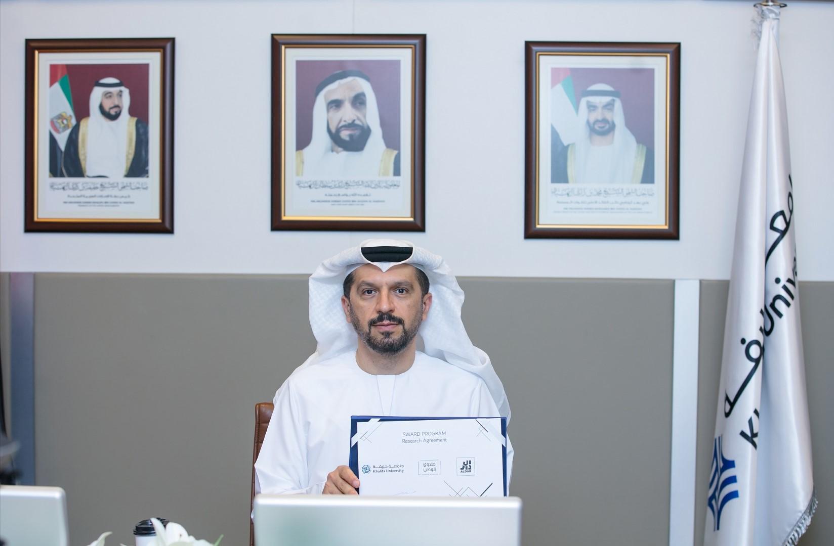 جامعة خليفة توقع اتفاقية بحثية بتمويل مشترك من
