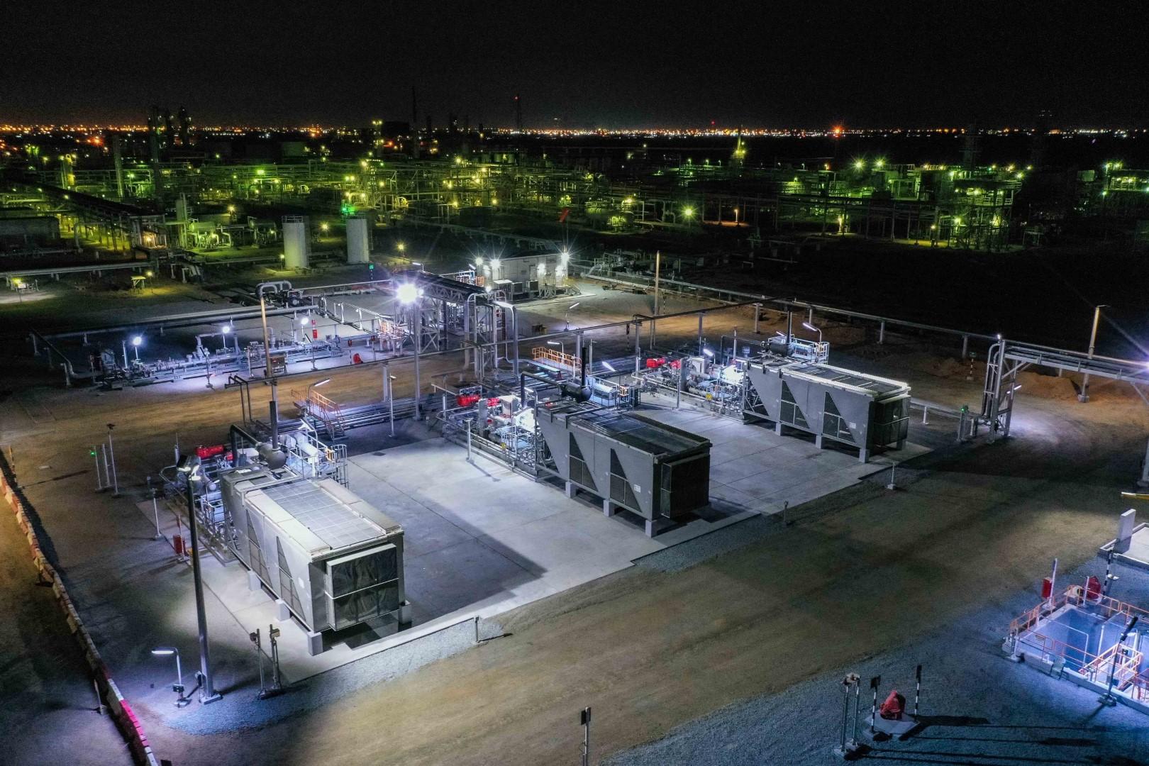 """مؤسسة نفط الشارقة الوطنية """"سنوك"""" تطلق مشروعاً رائداً لتخزين الغاز"""