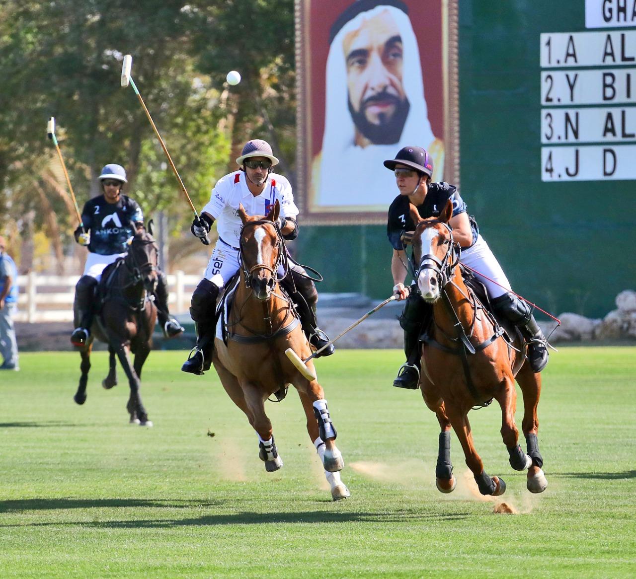 أنكورا و را نون و أبوظبي في صدارة الجولة الأولى من كأس سلطان بن زايد للبولو