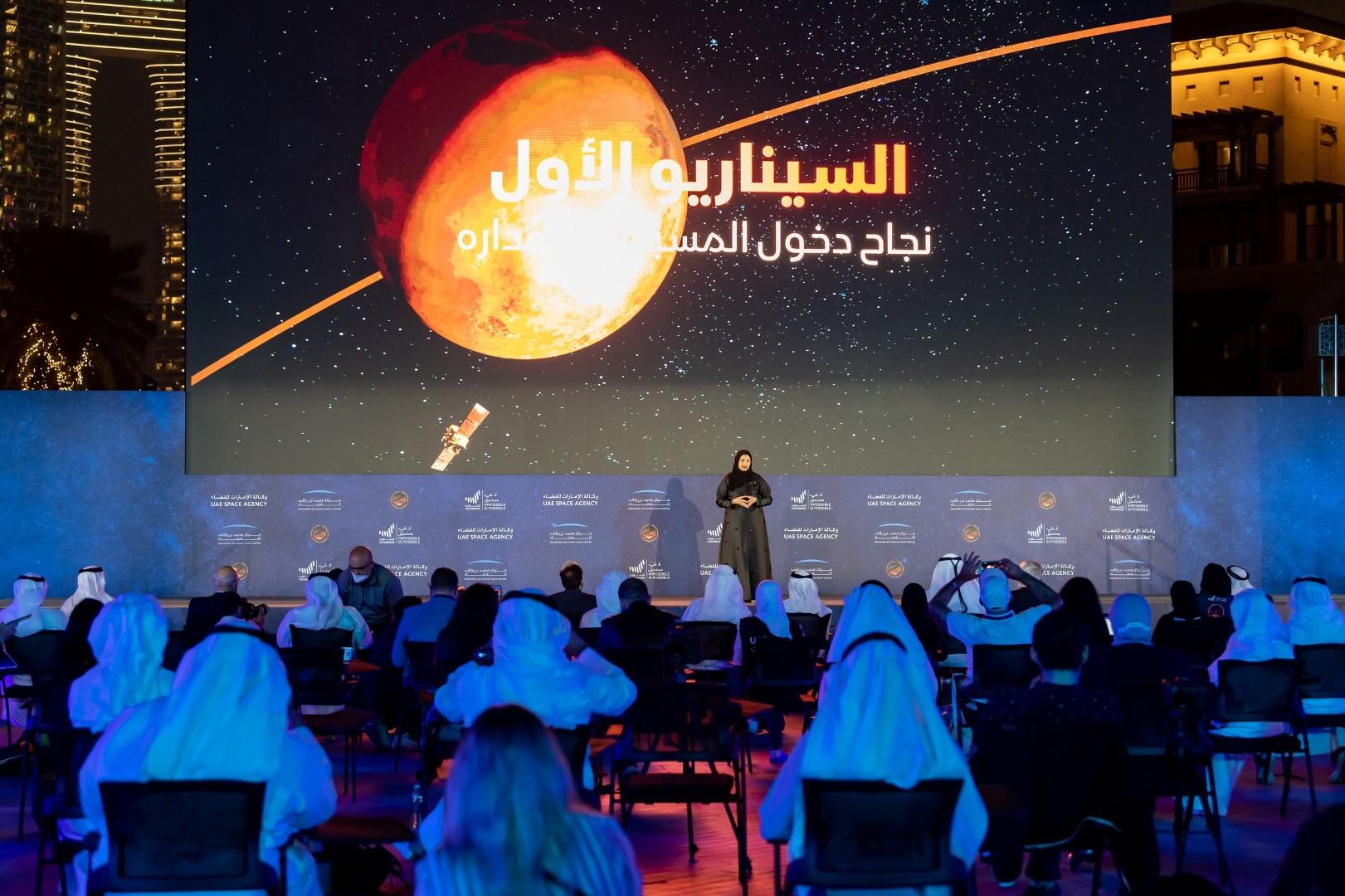 """أكثر من 12,000 مادة إعلامية إقليمية وعالمية غطت نجاح """"مسبار الأمل"""" في الوصول إلى المريخ"""