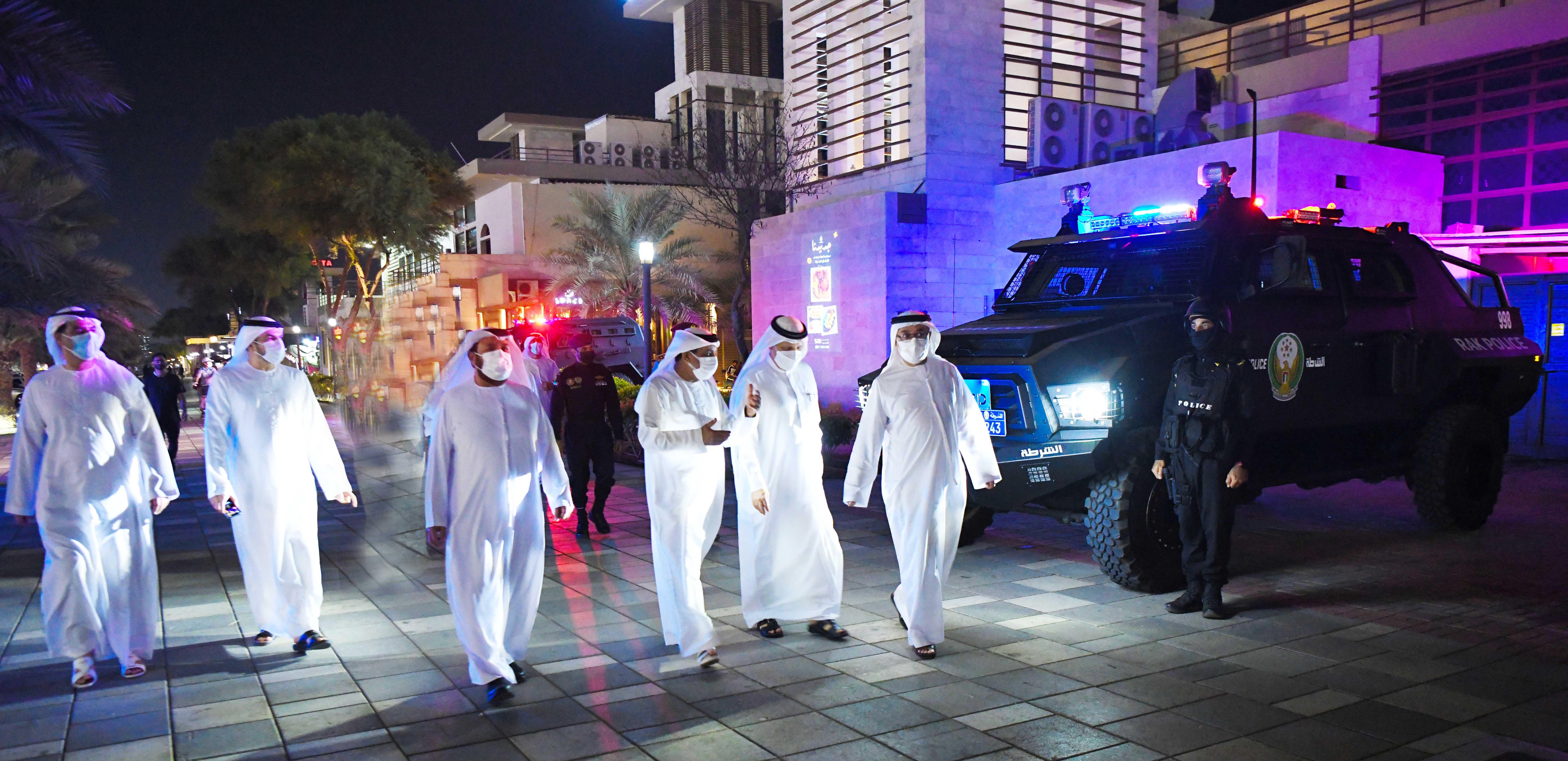 شرطة رأس الخيمة تفتتح معرض الابتكار