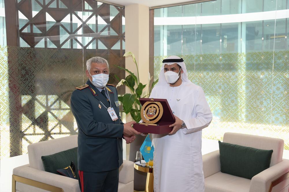 وكيل وزارة الدفاع يبحث التعاون مع عدد من ضيوف آيدكس 2021