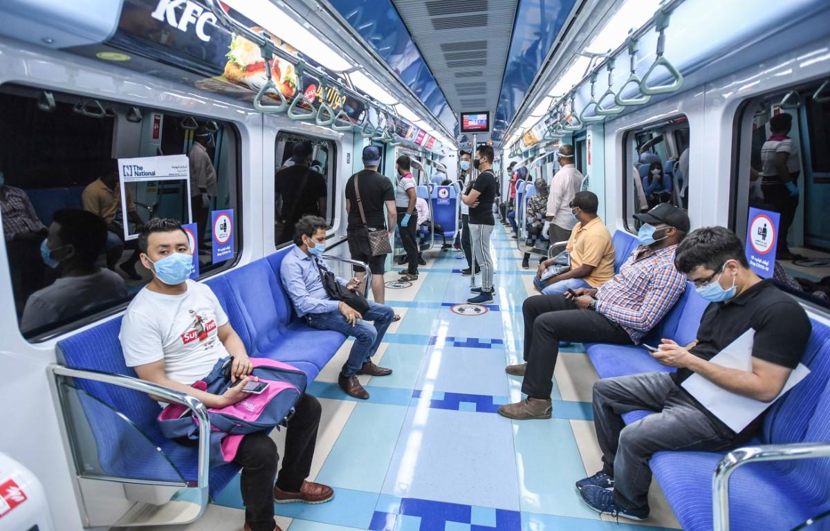 346 مليون راكب استخدموا وسائل النقل الجماعي ومركبات الأجرة في دبي 2020