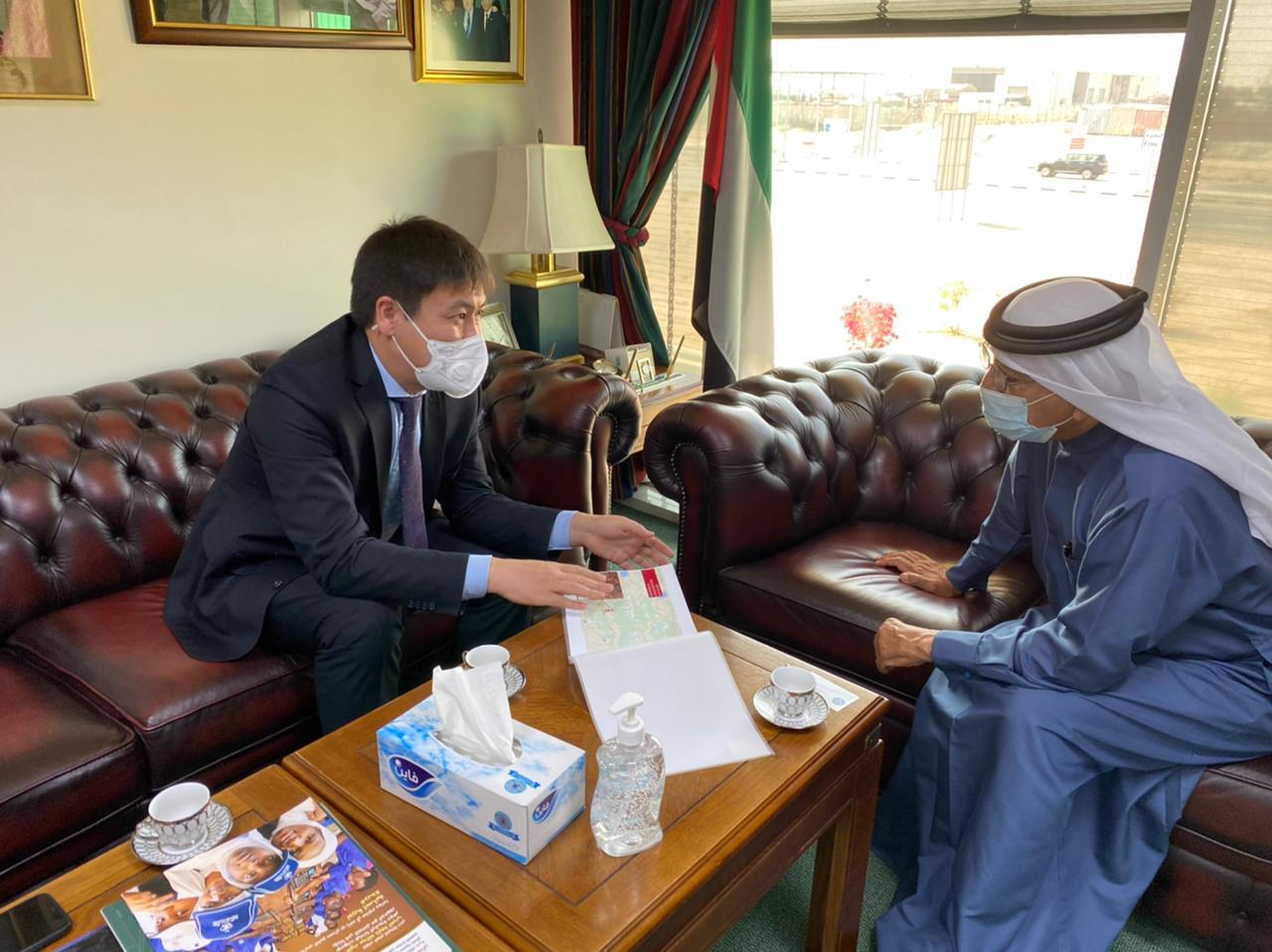 Хамдан бин Рашид руководит строительством школы и реализацией благотворительных проектов в Кыргызстане