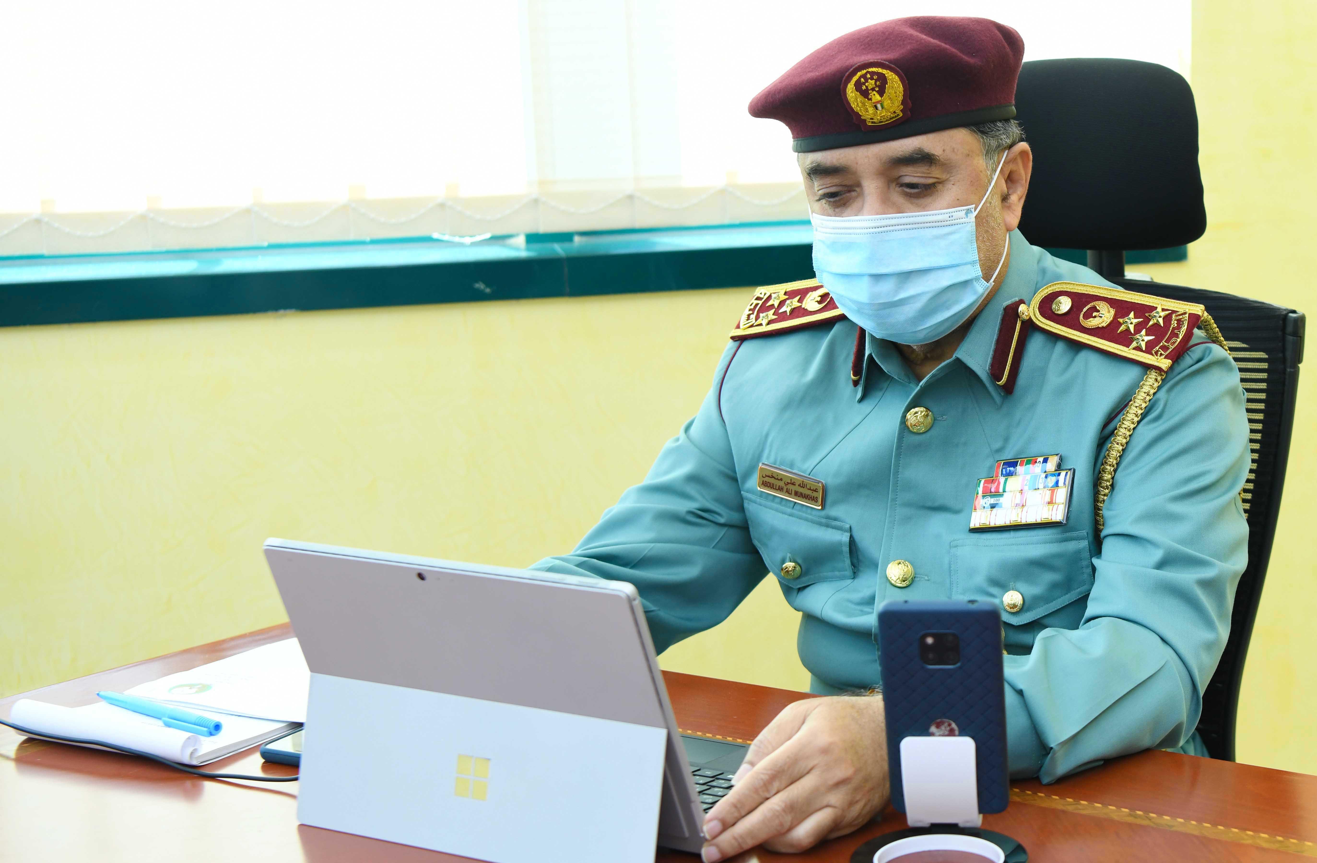 """شرطة رأس الخيمة تؤكد جاهزيتها لتأمين """"طواف الإمارات"""""""