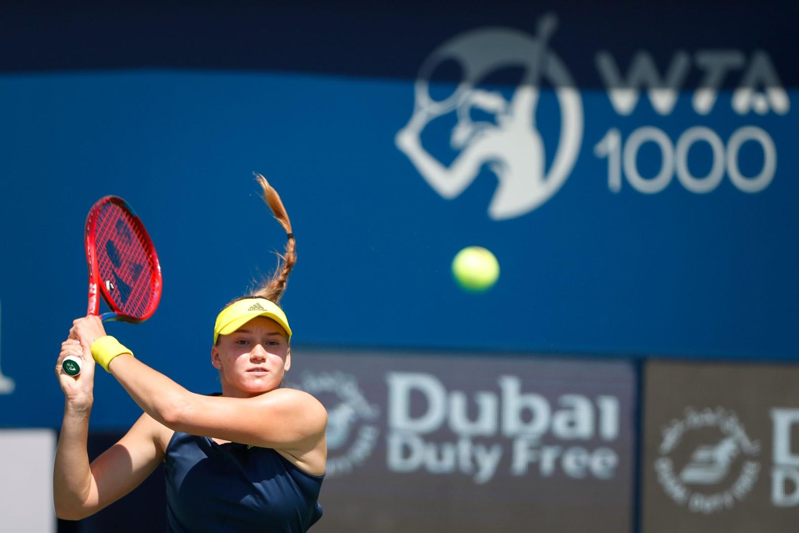 Emirates News Agency - Elena Rybakina makes a winning ...