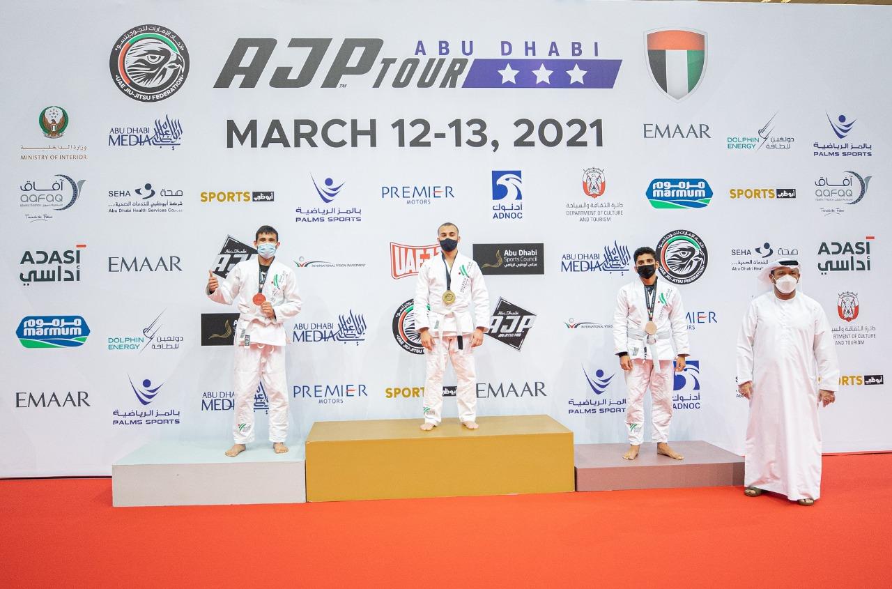 منافسات قوية في أول أيام بطولة أبوظبي الدولية لمحترفي الجوجيتسو