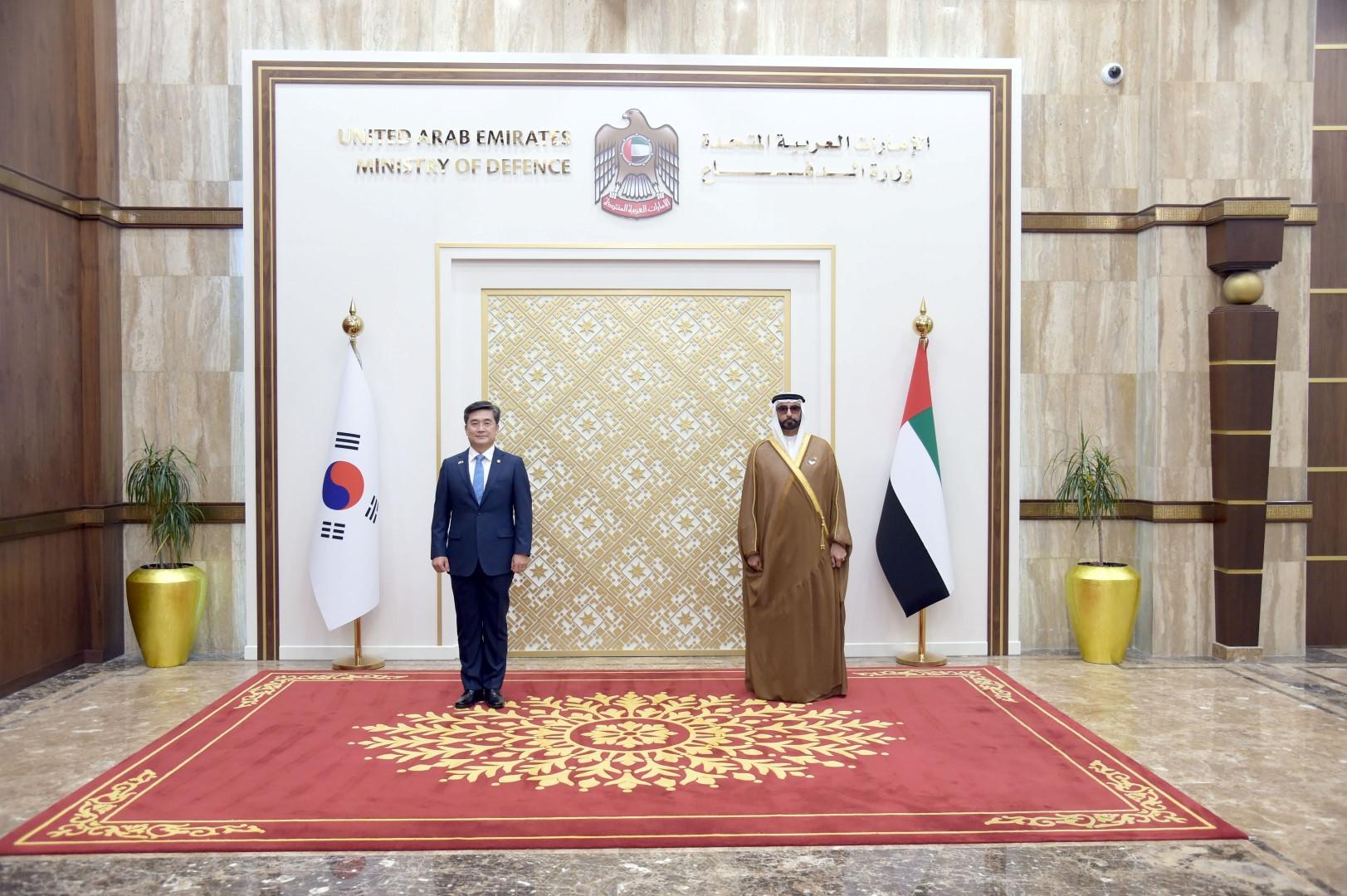 البواردي يترأس اجتماعات اللجنة العسكرية المشتركة العليا بين الإمارات وكوريا