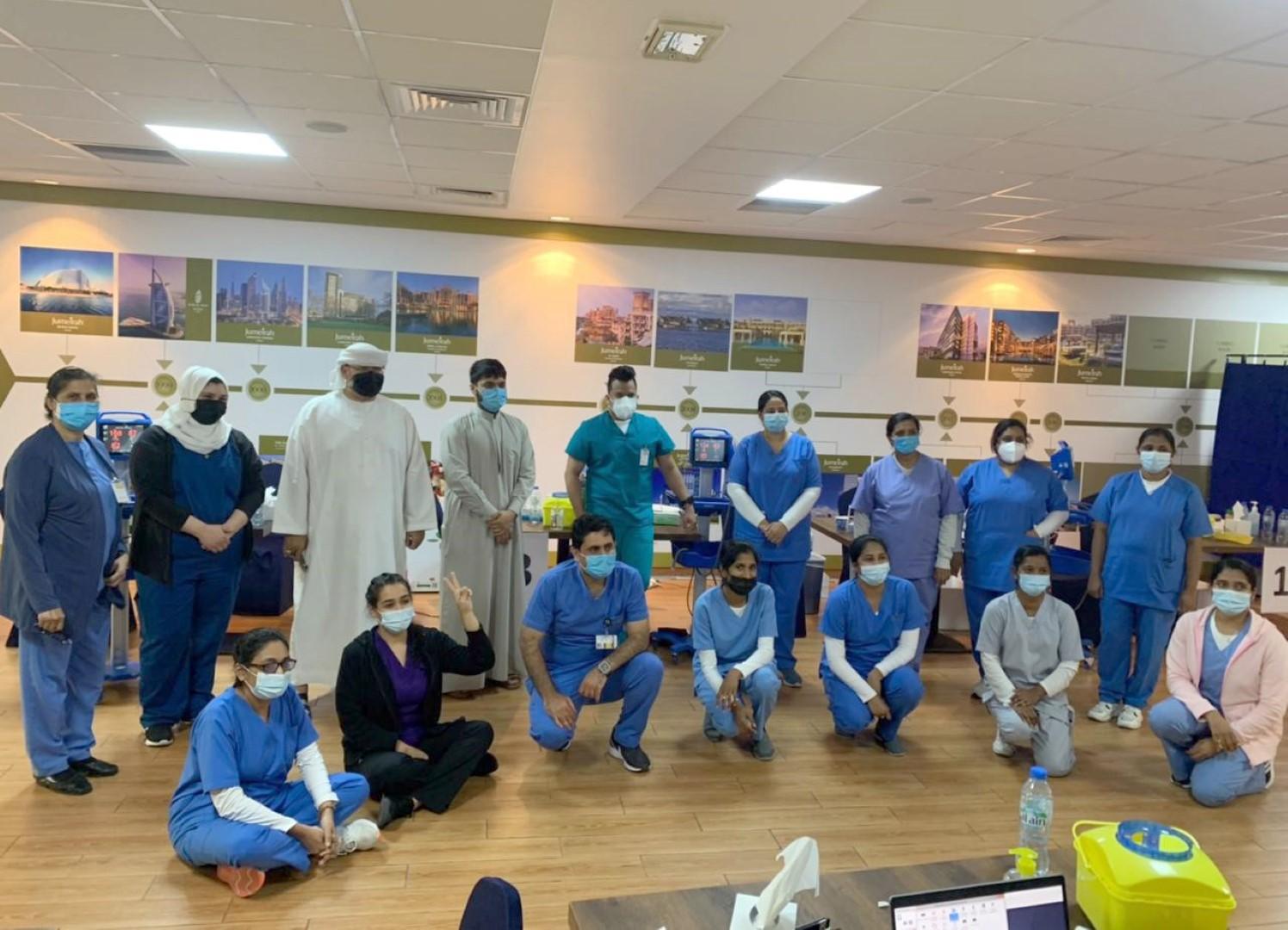دبي للسياحة تُشرف على تطعيم موظفي كافة فنادق النخلة جميرا