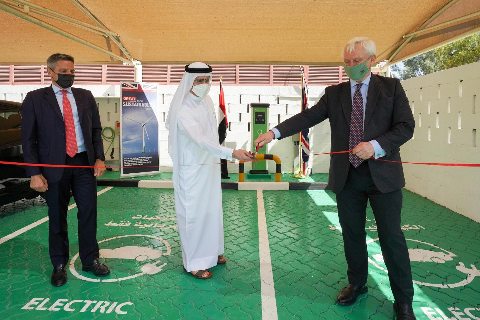 سعيد الطاير يبحث مع وزير الصادرات البريطاني التعاون في مجالات الطاقة والمياه
