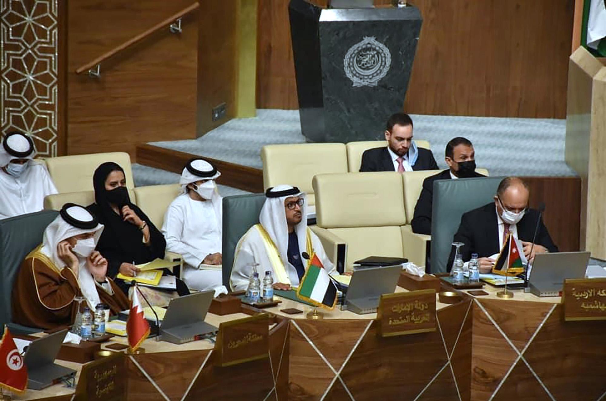 الامارات تشارك في اجتماعات المندوبين الدائمين لدى الجامعة العربية بالقاهرة