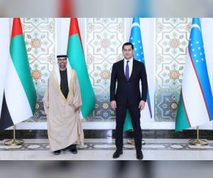 رئيس الدولة يوجه رسالة إلى رئيس أوزبكستان بشأن العلاقات الثنائية المتنامية