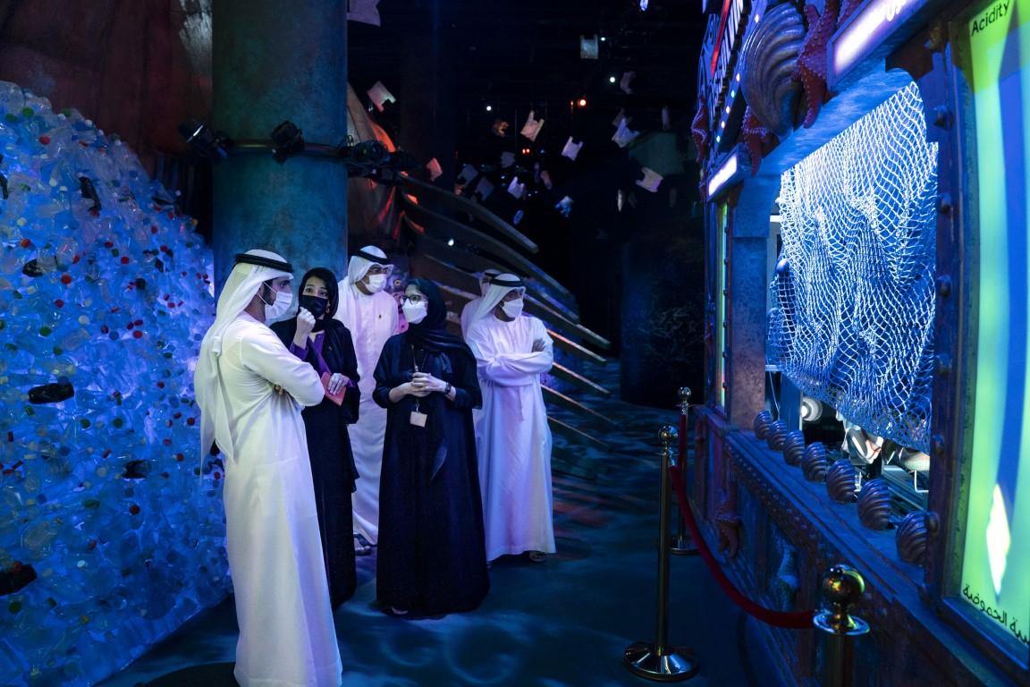 حمدان بن محمد يزور موقع أكسبو 2020 دبي ويطلع على استعدادات استضافة الحدث الدولي الكبير