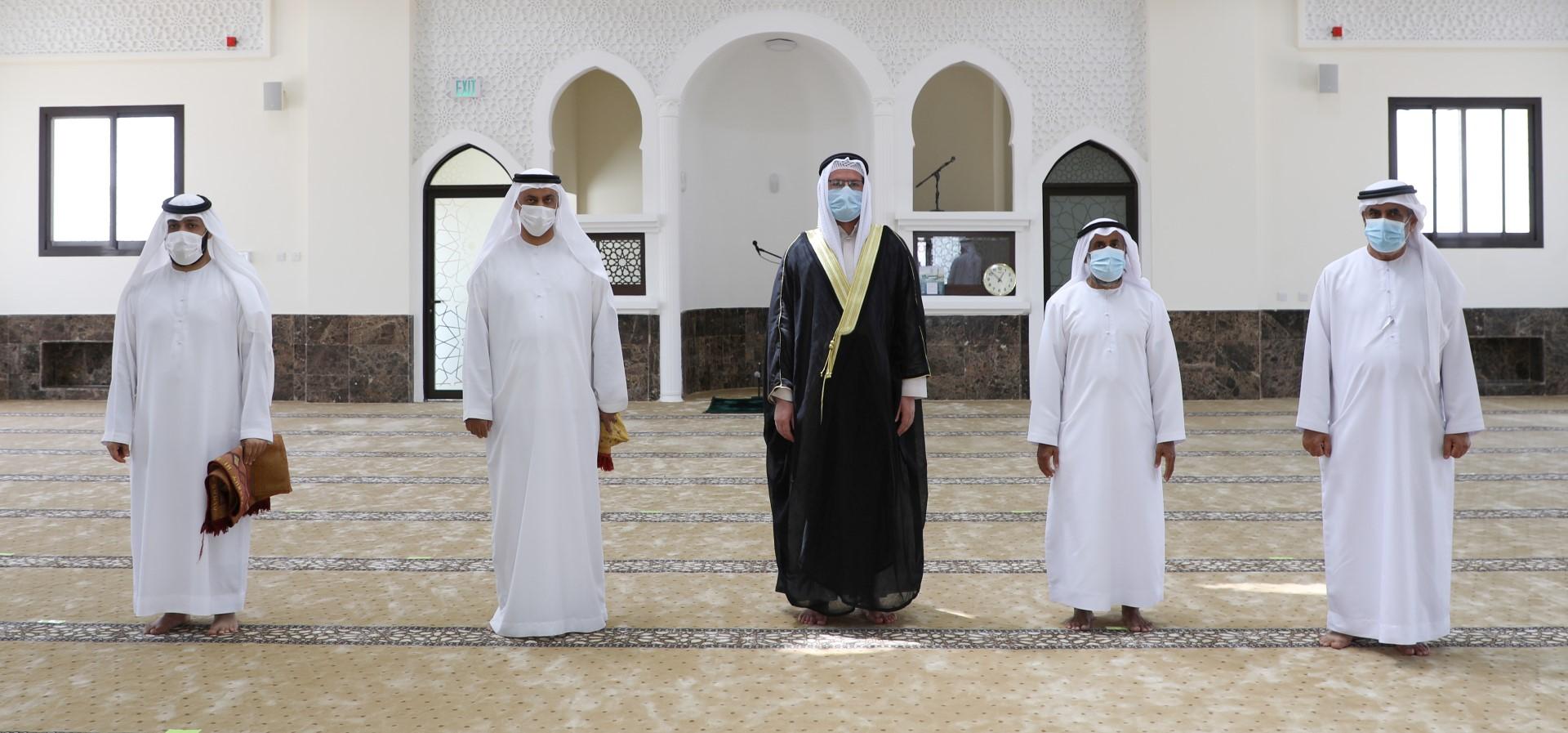 خيرية الشارقة تفتتح مسجدا جديدا في رأس الخيمة