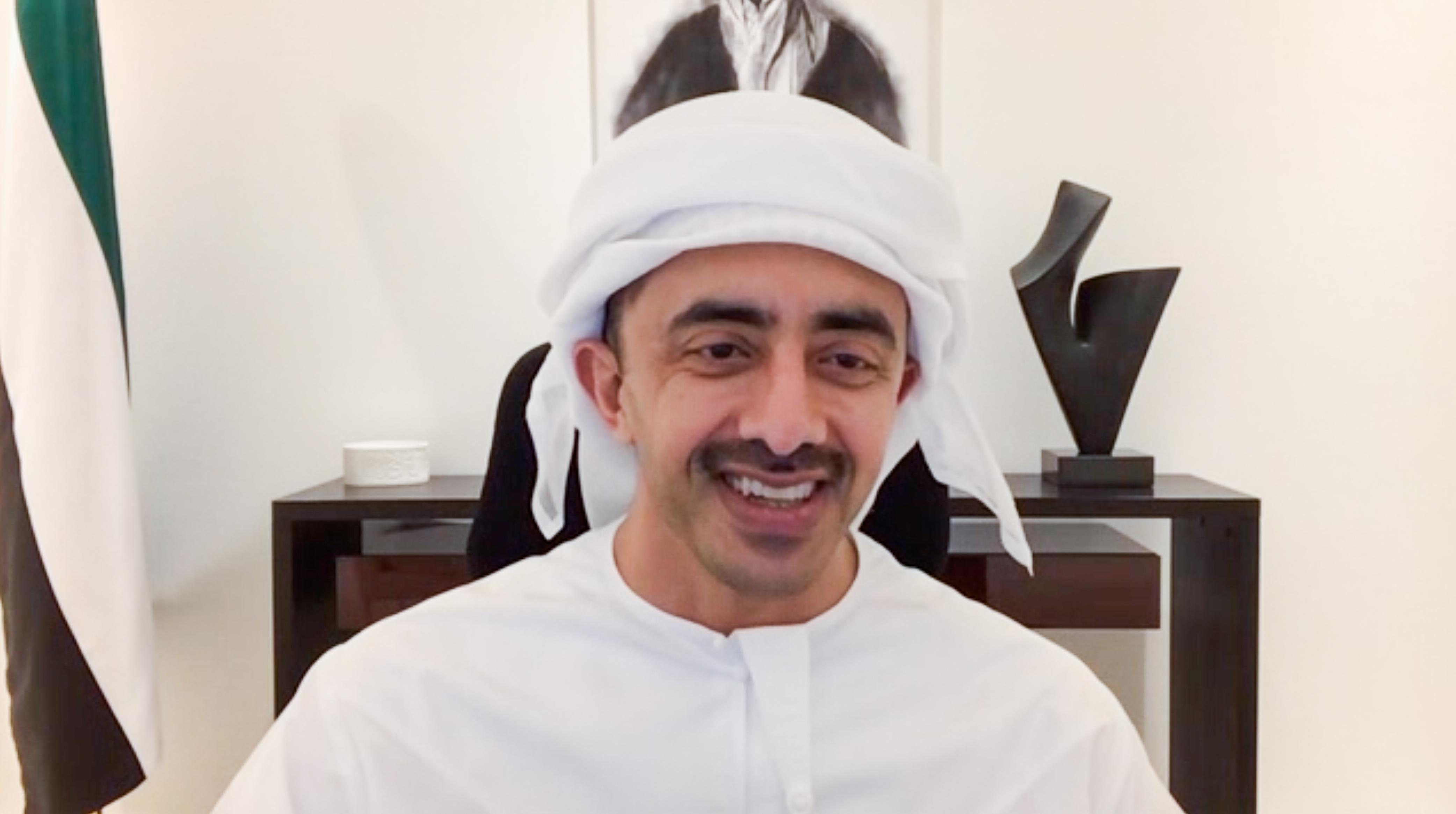 عبدالله بن زايد يترأس اجتماع مجلس التعليم والموارد البشرية عن بعد