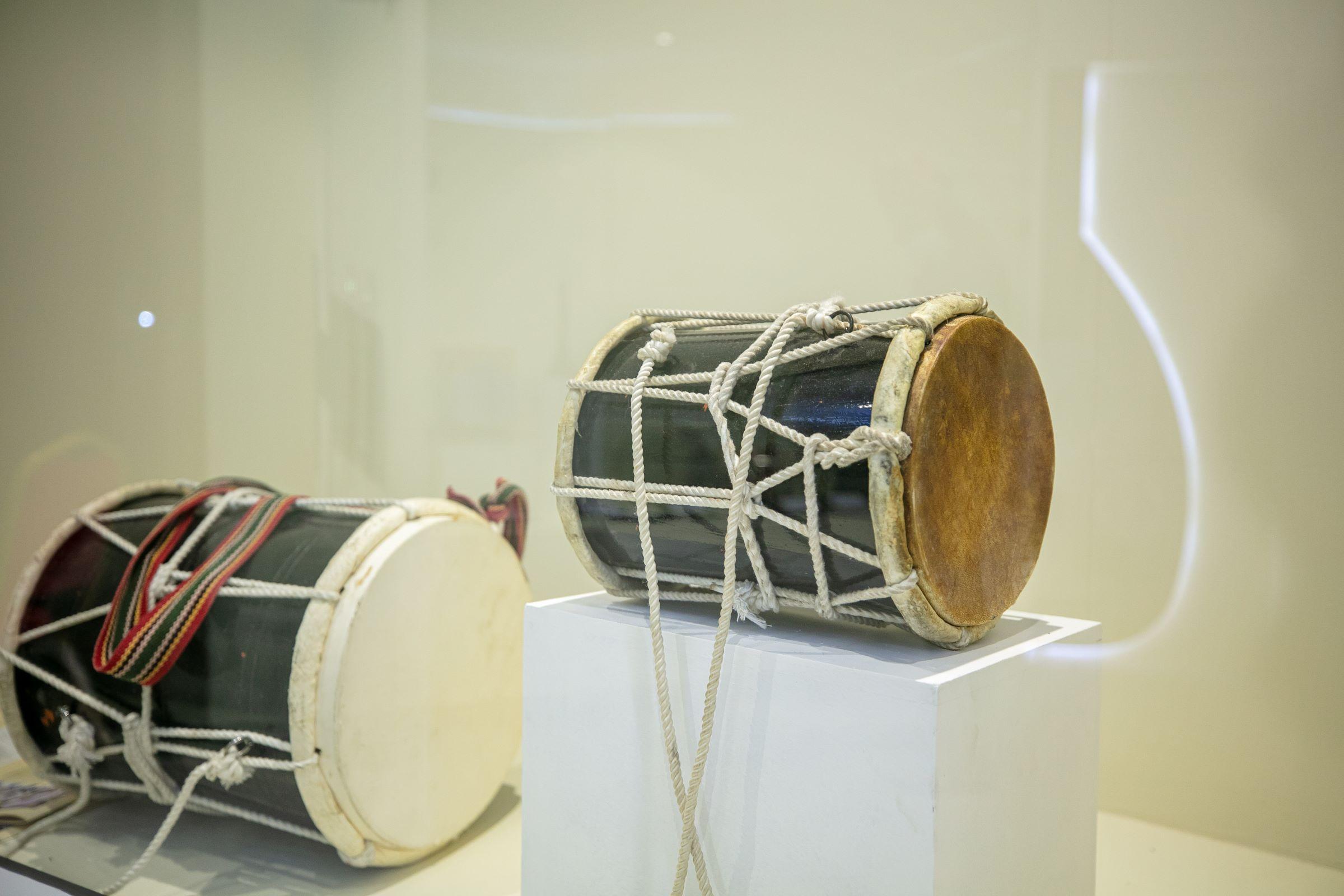 معرض الفنون الشعبيّة .. متحف للصوت و الآلات الموسيقية