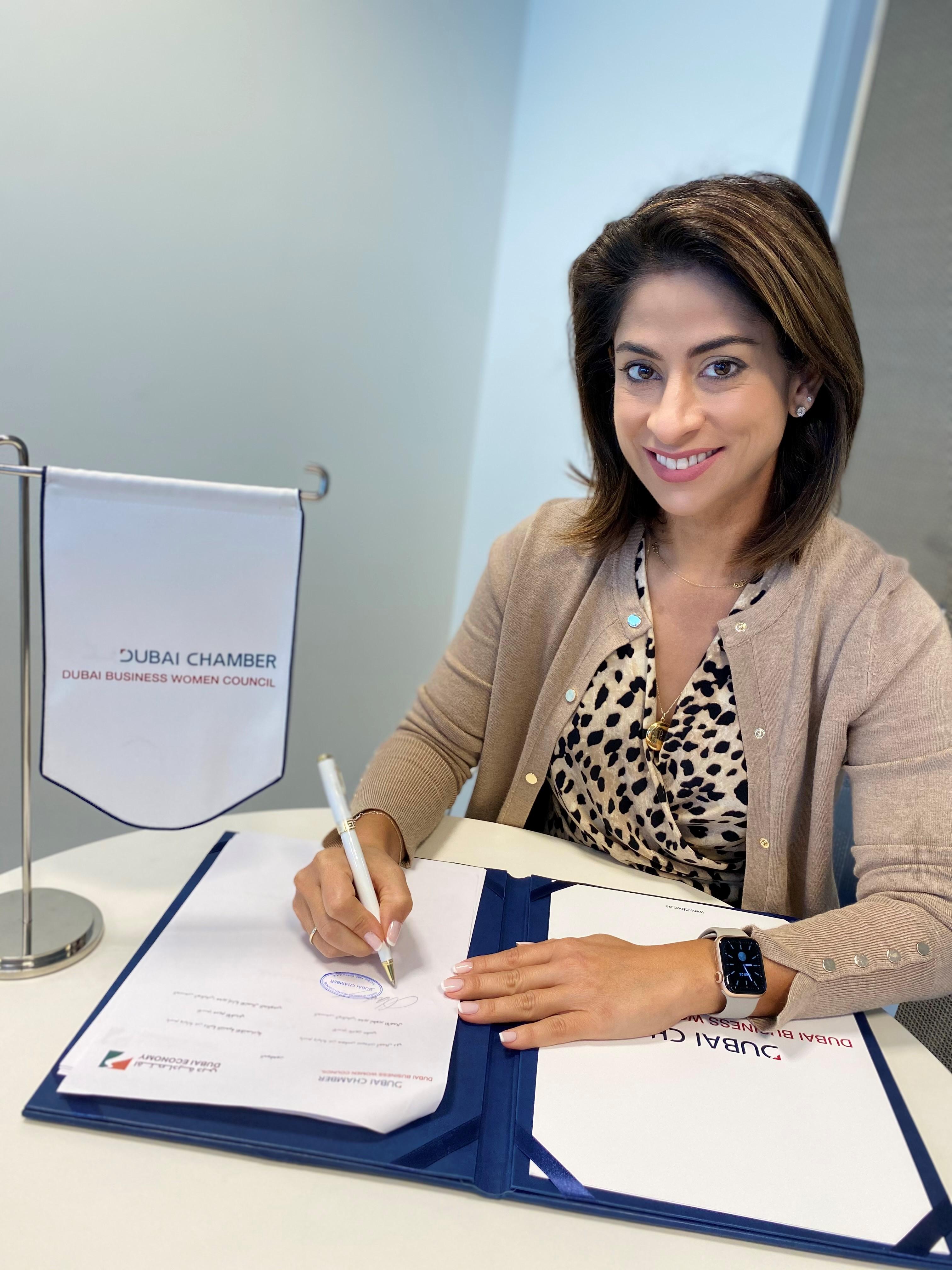 """""""سيدات أعمال دبي"""" ودائرة التنمية الاقتصادية يتعاونان لدعم رائدات الأعمال"""