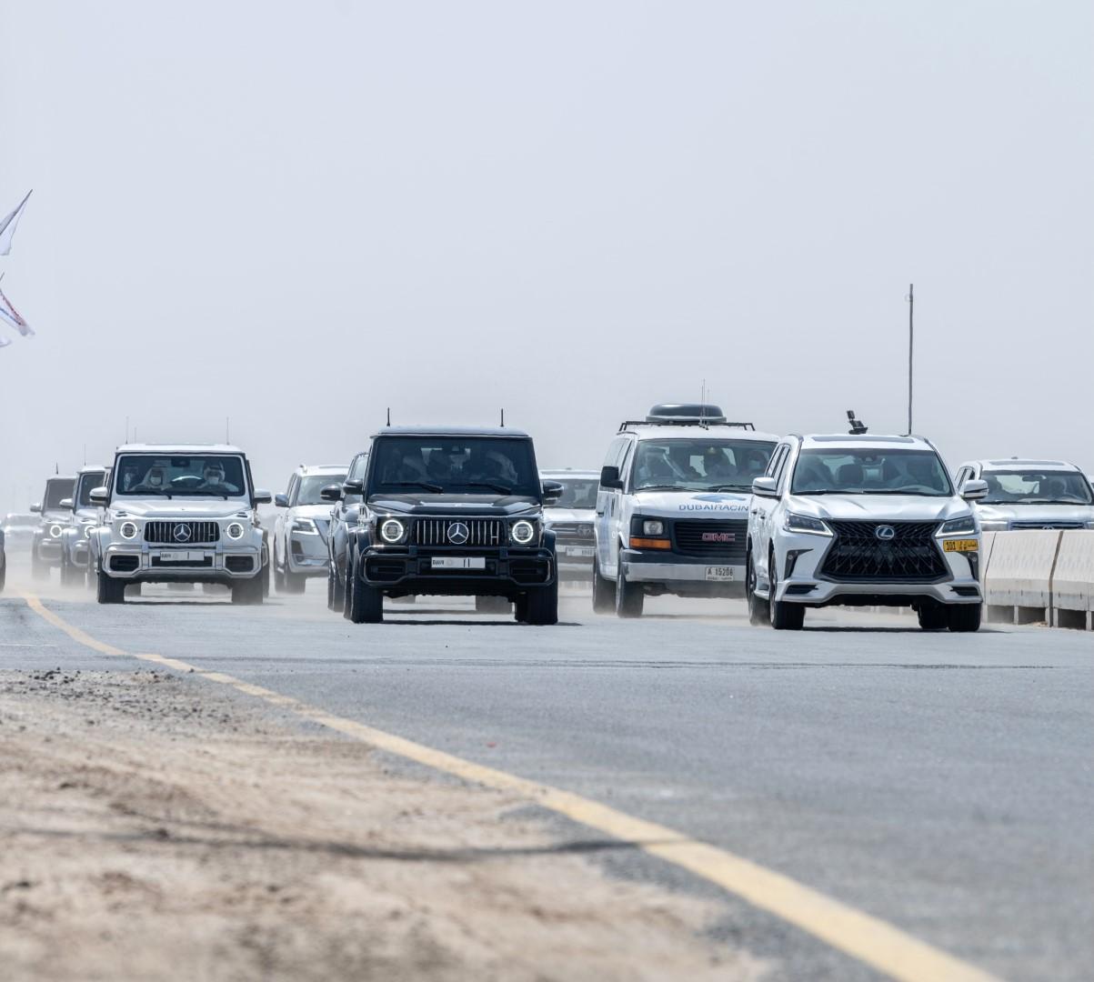 محمد بن راشد يشهد ختامي المرموم وثلاثية العاصفة