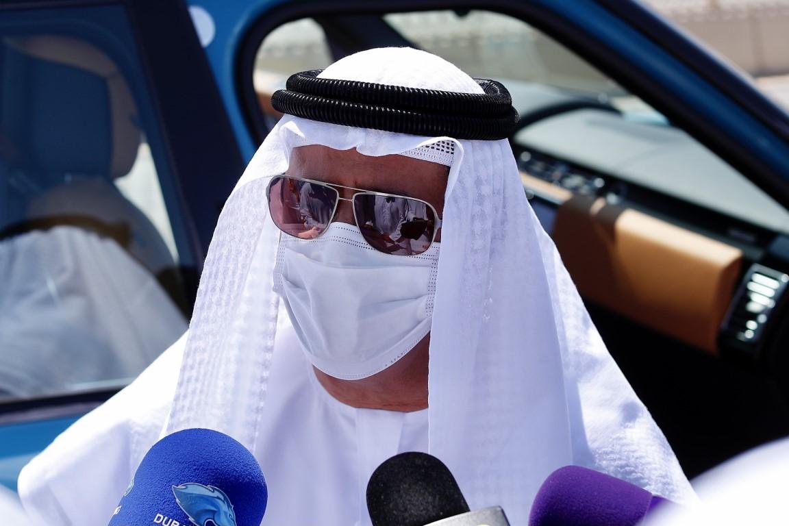سلطان بن حمدان يشهد تحديات الحول والزمول في ختامي المرموم