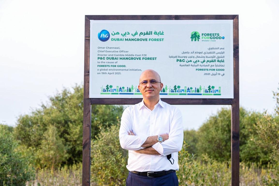 مجموعة الإمارات للبيئة البحرية وبروكتر آند جامبل تفتتحان غابة القرم في صحراء دبي
