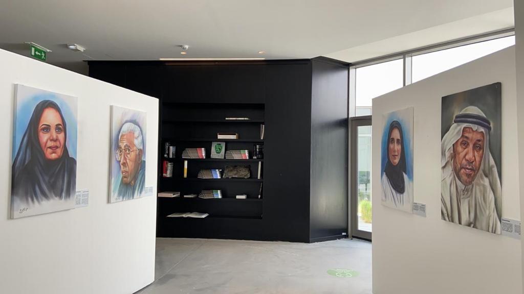 """""""وجوه ثقافية"""" يتحول إلى معرض دائم في دبي"""