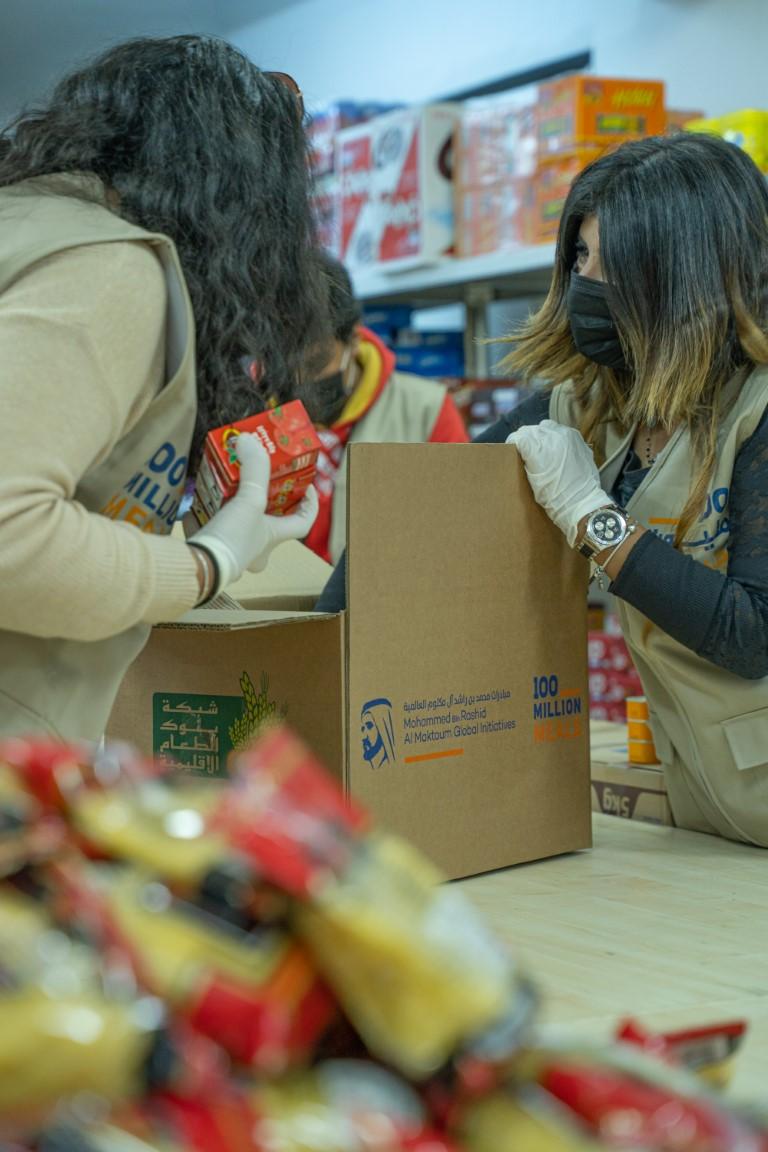 """حملة """"100 مليون وجبة"""" تحقق 78 في المائة من أهدافها في أسبوعها الأول وتجمع مساهمات تعادل توفير 78 مليون وجبة"""