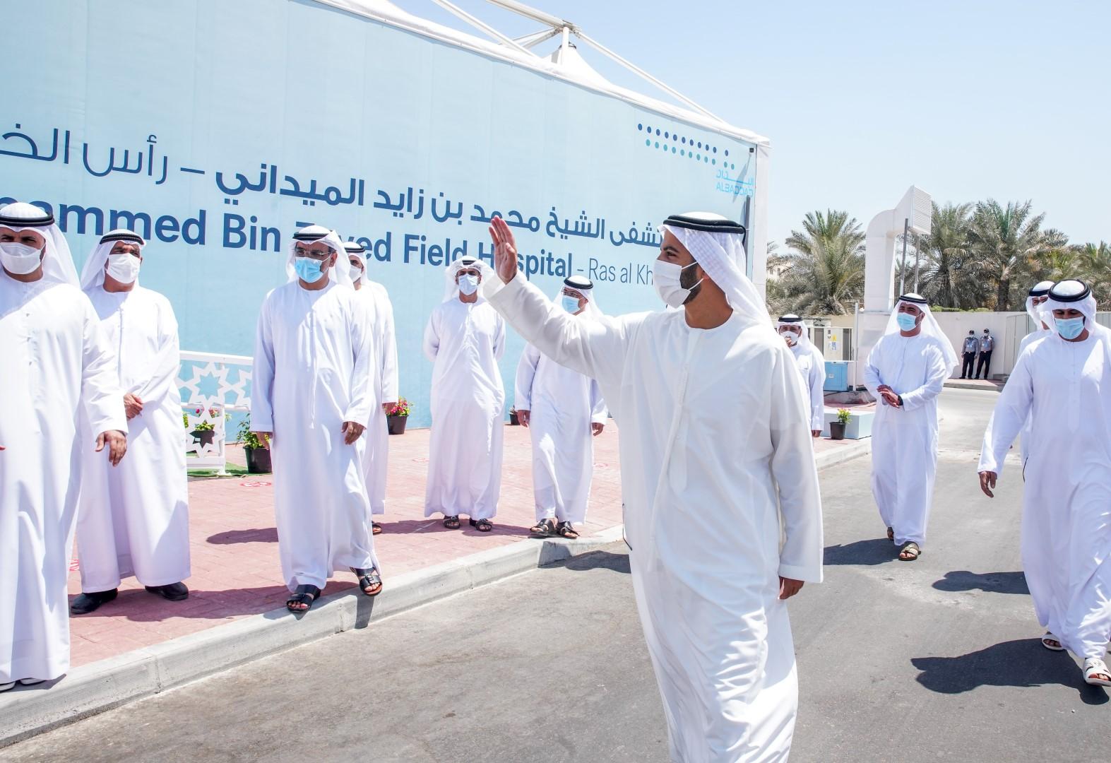 محمد بن سعود القاسمي: مستشفى محمد بن زايد الميداني برأس الخيمة إضافة نوعية تعزز قدرات القطاع الطبي